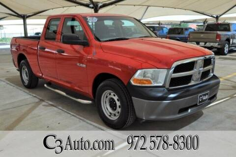 2010 Dodge Ram Pickup 1500 for sale at C3Auto.com in Plano TX