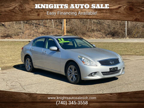 2012 Infiniti G37 Sedan for sale at Knights Auto Sale in Newark OH
