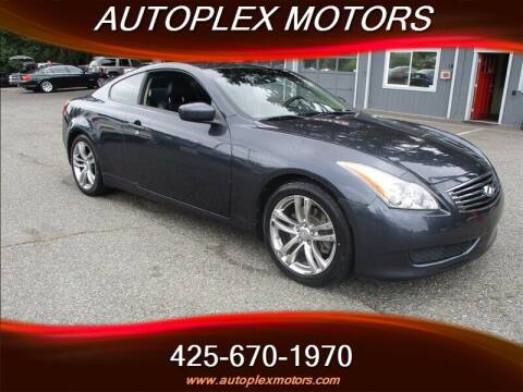 2008 Infiniti G37 for sale at Autoplex Motors in Lynnwood WA