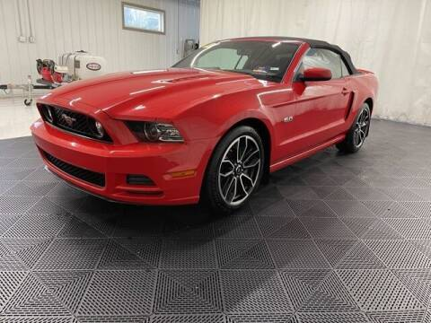 2014 Ford Mustang for sale at Monster Motors in Michigan Center MI