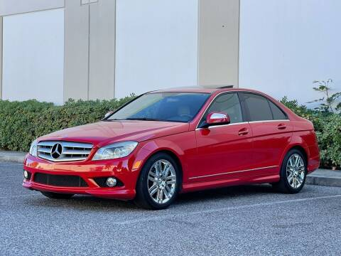 2008 Mercedes-Benz C-Class for sale at Carfornia in San Jose CA