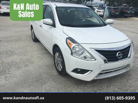 2018 Nissan Versa for sale at K&N Auto Sales in Tampa FL