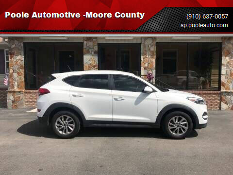 2017 Hyundai Tucson for sale at Poole Automotive in Laurinburg NC