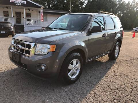 2010 Ford Escape for sale at CVC AUTO SALES in Durham NC