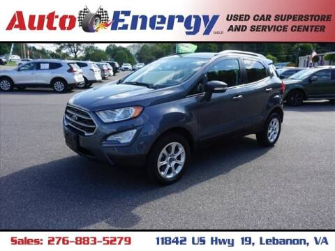 2019 Ford EcoSport for sale at Auto Energy in Lebanon VA