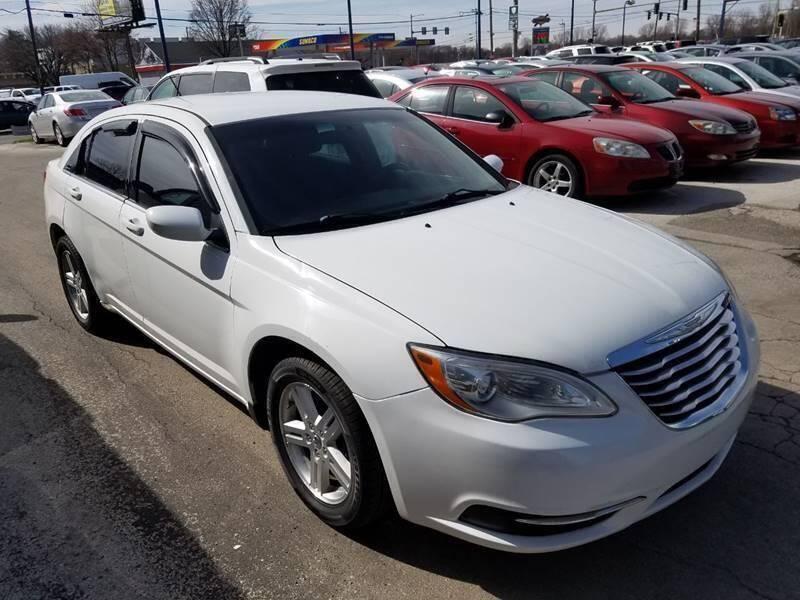 2012 Chrysler 200 for sale at Royal Motors - 33 S. Byrne Rd Lot in Toledo OH
