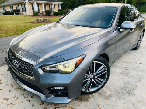 2015 Infiniti Q50 for sale at Cobb Luxury Cars in Marietta GA