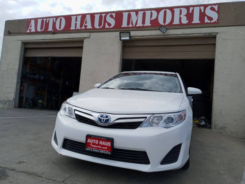 2014 Toyota Camry Hybrid for sale at Auto Haus Imports in Grand Prairie TX