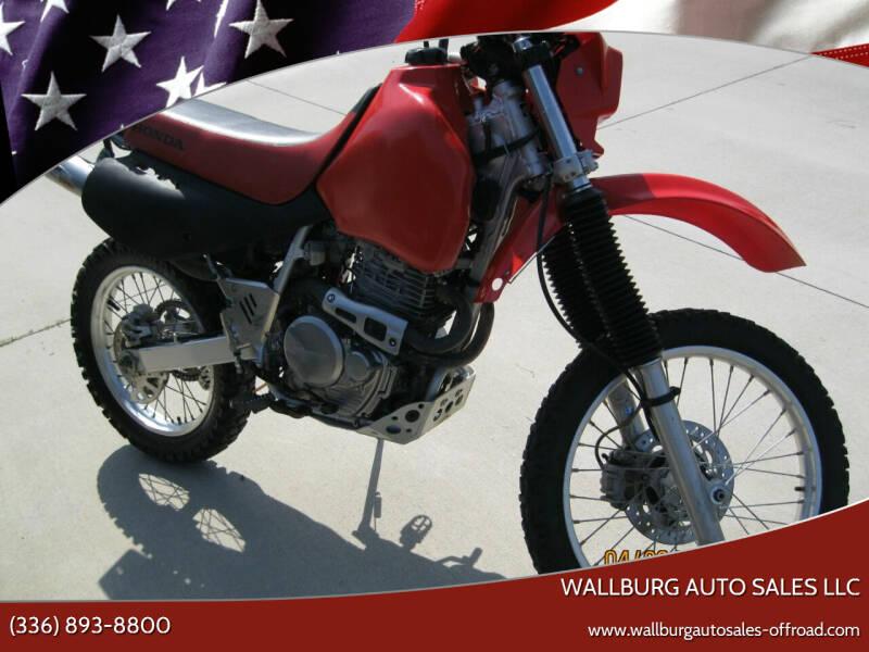 2002 Honda 650L for sale at WALLBURG AUTO SALES LLC in Winston Salem NC