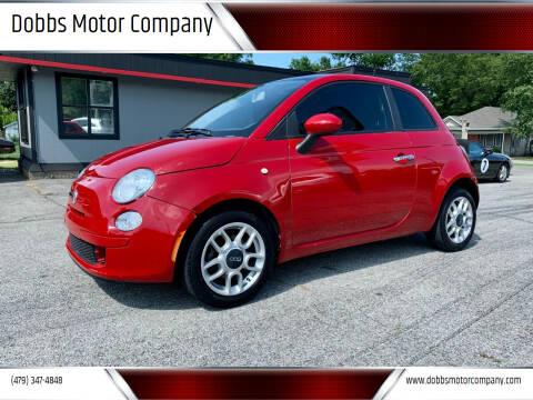 2012 FIAT 500 for sale at Dobbs Motor Company in Springdale AR