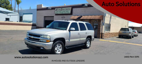 2006 Chevrolet Tahoe for sale at Auto Solutions in Mesa AZ