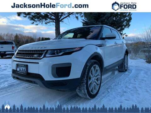 2017 Land Rover Range Rover Evoque for sale at Jackson Hole Ford of Alpine in Alpine WY