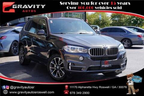 2017 BMW X5 for sale at Gravity Autos Roswell in Roswell GA