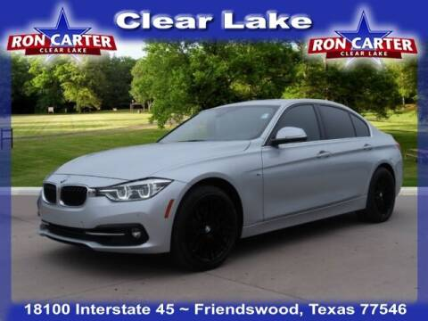 2018 BMW 3 Series for sale at Ron Carter  Clear Lake Used Cars in Houston TX