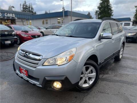 2013 Subaru Outback for sale at Real Deal Cars in Everett WA