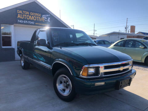 1996 Chevrolet S-10 for sale at Dalton George Automotive in Marietta OH
