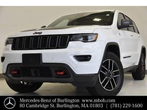 2019 Jeep Grand Cherokee for sale at Mercedes Benz of Burlington in Burlington MA