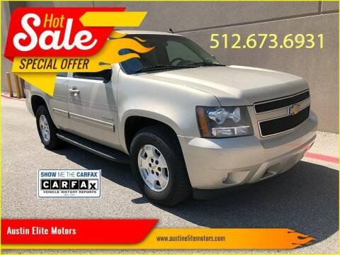 2011 Chevrolet Tahoe for sale at Austin Elite Motors in Austin TX