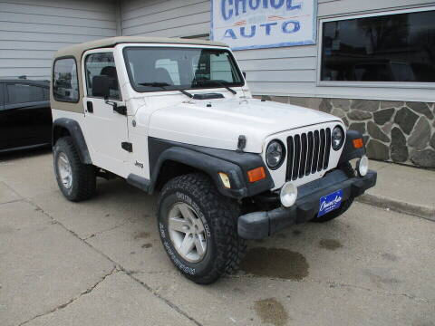 2000 Jeep Wrangler for sale at Choice Auto in Carroll IA