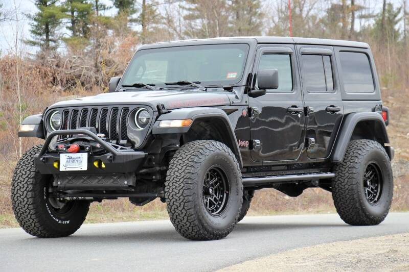 2018 Jeep Wrangler Unlimited for sale at Miers Motorsports in Hampstead NH