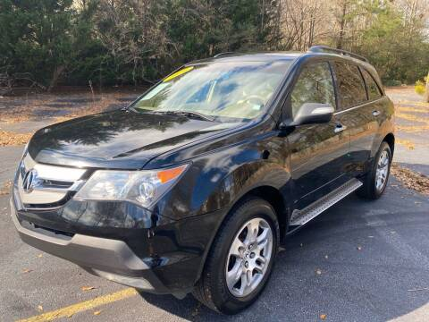2009 Acura MDX for sale at Peach Auto Sales in Smyrna GA