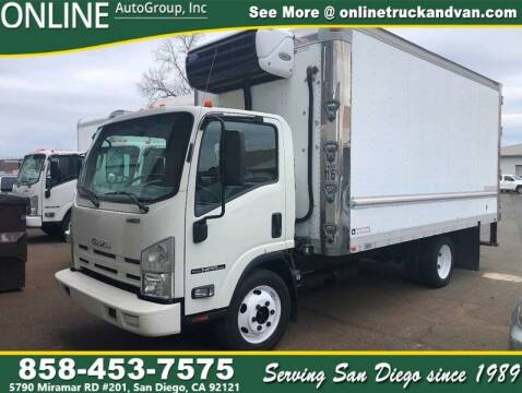 2015 Isuzu NPR Reefer 16ft Box for sale at Online Auto Group Inc in San Diego CA