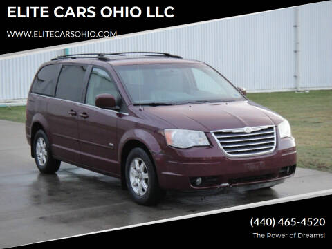 2009 Chrysler Town and Country for sale at ELITE CARS OHIO LLC in Solon OH