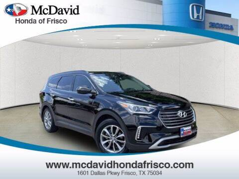 2017 Hyundai Santa Fe for sale at DAVID McDAVID HONDA OF IRVING in Irving TX