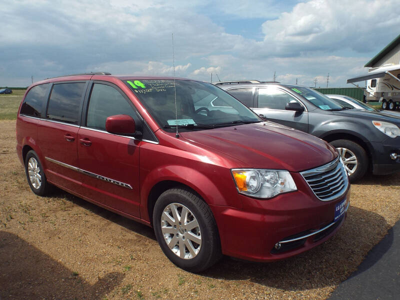 2014 Chrysler Town and Country for sale at G & K Supreme in Canton SD