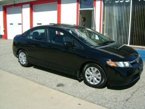 2008 Honda Civic for sale at Cedar Auto Sales in Lansing MI