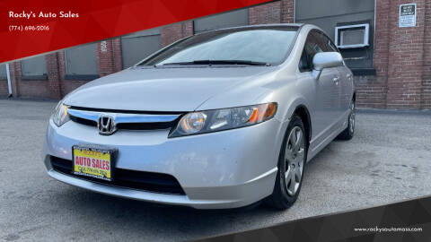 2006 Honda Civic for sale at Rocky's Auto Sales in Worcester MA
