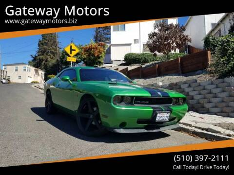 2010 Dodge Challenger for sale at Gateway Motors in Hayward CA
