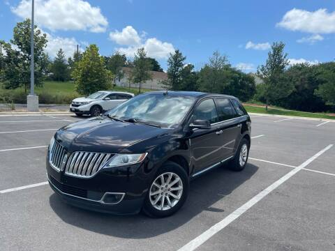 2013 Lincoln MKX for sale at Hatimi Auto LLC in Austin TX