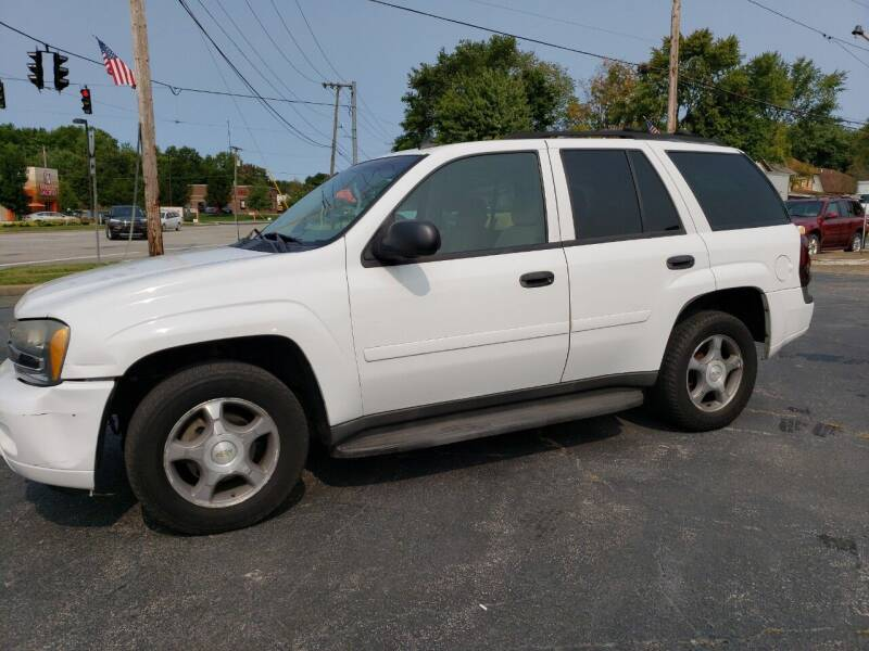 2007 Chevrolet TrailBlazer for sale at COLONIAL AUTO SALES in North Lima OH