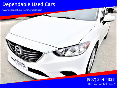 2015 Mazda MAZDA6 for sale at Dependable Used Cars in Anchorage AK