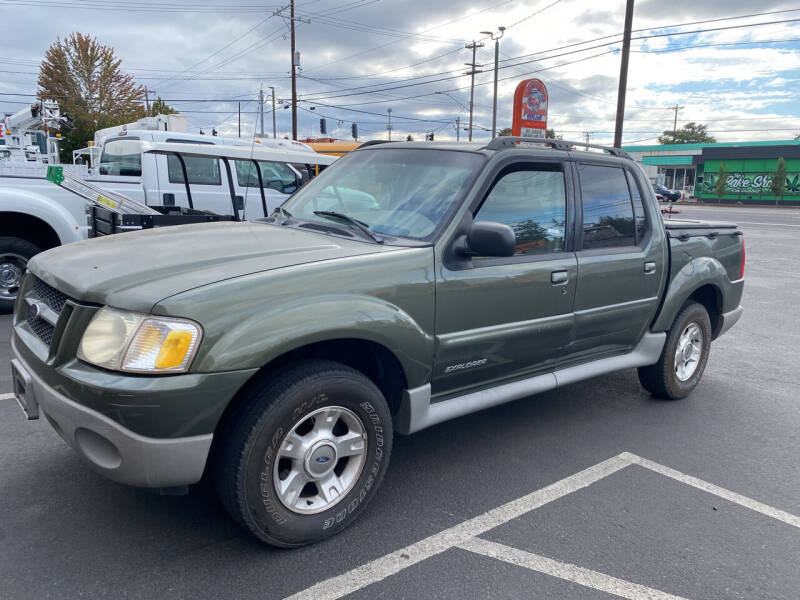 2001 Ford Explorer Sport Trac for sale at Dorn Brothers Truck and Auto Sales in Salem OR