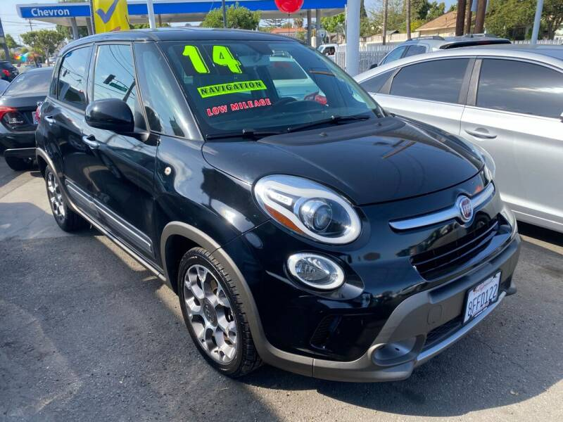 2014 FIAT 500L for sale at CAR GENERATION CENTER, INC. in Los Angeles CA
