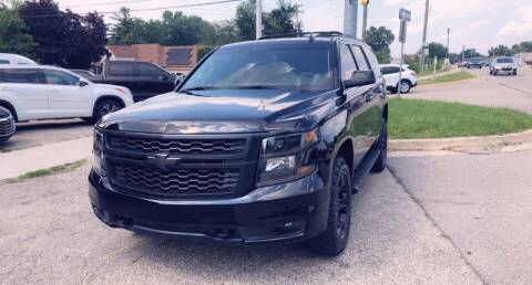 2018 Chevrolet Tahoe for sale at One Price Auto in Mount Clemens MI