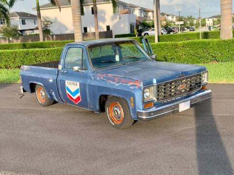 1975 Chevrolet C/K 10 Series for sale at Vintage Point Corp in Miami FL