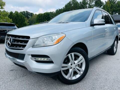 2013 Mercedes-Benz M-Class for sale at Classic Luxury Motors in Buford GA