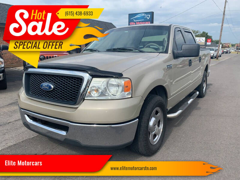 2008 Ford F-150 for sale at Elite Motorcars in Smyrna TN