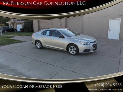 2014 Chevrolet Malibu for sale at McPherson Car Connection LLC in Mcpherson KS