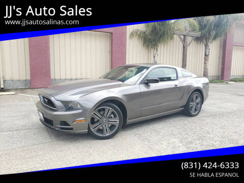 2013 Ford Mustang for sale at JJ's Auto Sales in Salinas CA