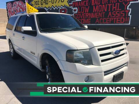 2008 Ford Expedition EL for sale at Rock Star Auto Sales in Las Vegas NV