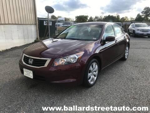 2009 Honda Accord for sale at Ballard Street Auto in Saugus MA