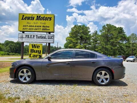 2015 Dodge Charger for sale at Lewis Motors LLC in Deridder LA