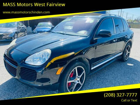 2006 Porsche Cayenne for sale at MASS Motors West Fairview in Boise ID