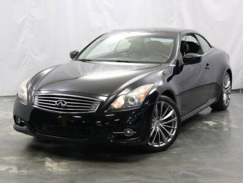 2011 Infiniti G37 Convertible for sale at United Auto Exchange in Addison IL