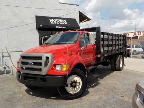 2004 Ford F-750 Super Duty for sale at FAIRWAY AUTO SALES, INC. in Melrose Park IL