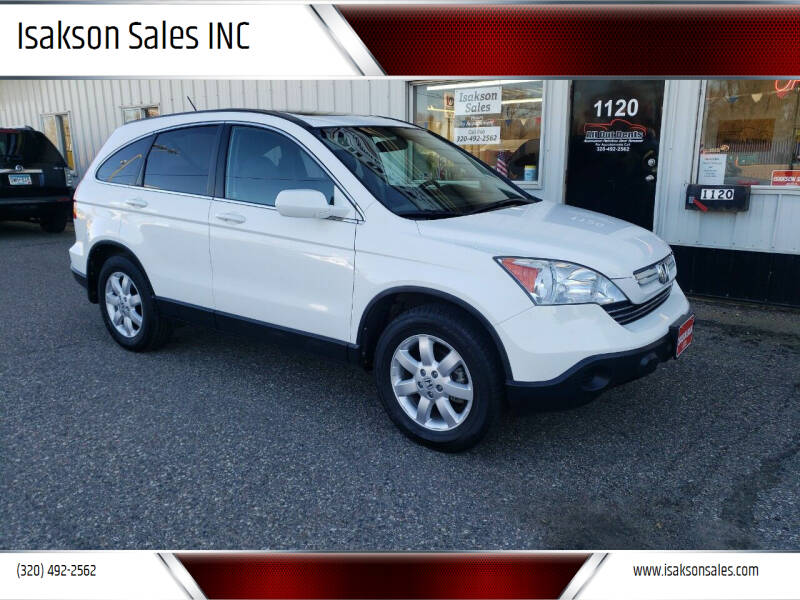 2009 Honda CR-V for sale at Isakson Sales INC in Waite Park MN